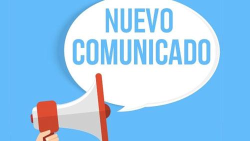 Comunicado ANECIPN
